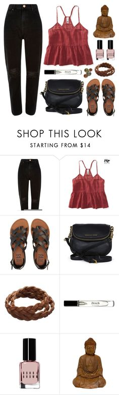 """tell me about it"" by megmara ❤ liked on Polyvore featuring River Island, Aéropostale, Billabong, Michael Kors and Bobbi Brown Cosmetics"