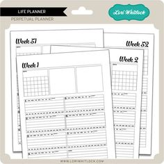 New at Jessica Sprague: Life Planner... helps you organize and plan your Project Life®