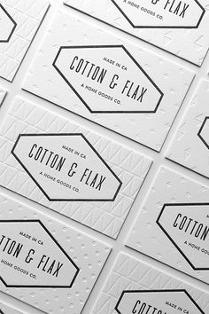 210 best stand out business cards images on pinterest business lulu dee designed understated cool business cards for cotton flax businesscards trendhunter reheart Choice Image