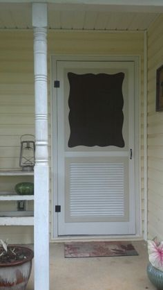 "My ""new"" screen door"