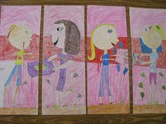One Happy Art Teacher: Fourth Grade