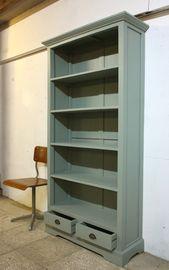 Oude Landelijke boekenkast lade / 1549