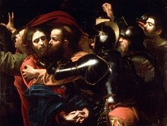 """The Taking of Christ"" by Caravaggio (1602)."