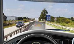 Llega el Head-Up Display para los camiones y autobuses