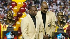 Darrell Green and Art Monk honored.