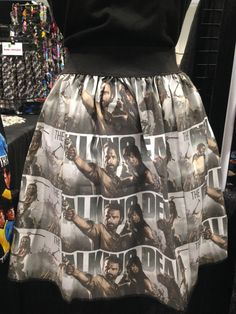 The Walking Dead Skirt Sizes Small thru Plus size