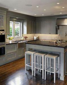7 best galley kitchen with island images kitchens kitchen ideas rh pinterest com