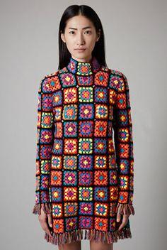 **Hand Knit Crochet Dress by Meadham Kirchhoff for Topshop - DEN FINASTE KLÄNNINGEN JAG VET