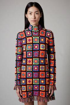 **Hand Knit Crochet Dress by Meadham Kirchhoff for Topshop - DEN FINASTE KLÄNNINGEN JAG VET