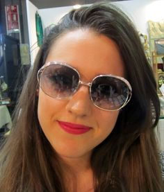 Our original vintage sunglasses worn by real people, visiting us at vintage markets and trade fairs. Find out more at www.shop.puntidivi.eu. #puntidivi #vintage #vintagefashion #vintagestore #vintageframes #sunglassesstore #eyeglasses #sunglasses #vintagesunglasses #vintageeyeglasses
