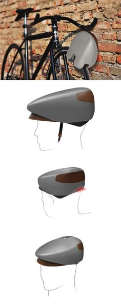 SECURE YOUR NOGGIN AND #BIKE IN ONE. #Design #Loki #Helmet #Yankodesign #Safety #Transportation #Accessory