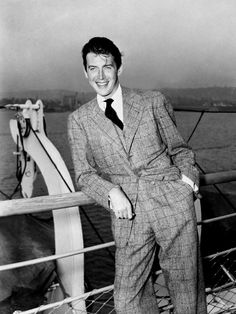 Jimmy Stewart; without a doubt 1 of the best actors & Americans. Not to mention Super Handsome.
