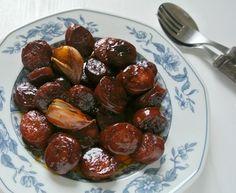 Glasierte Chorizo à la Jamie Oliver