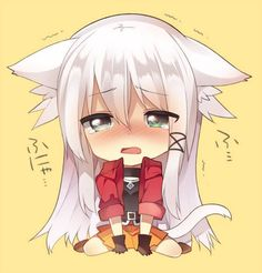 pixiv is an illustration community service where you can post and enjoy creative work. A large variety of work is uploaded, and user-organized contests are frequently held as well. Anime Neko, Kawaii Anime Girl, Pet Anime, Chibi Manga, Anime Girls, Dibujos Anime Chibi, Anime Wolf Girl, Loli Kawaii, Cute Anime Chibi