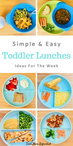 Need quick and healthy toddler lunch ideas? Here is a list of easy, low prep lun… Need quick and healthy toddler lunch ideas? Here is a list of easy, low prep lunch ideas for. Healthy Toddler Lunches, Picky Toddler Meals, Healthy Lunches For Work, Prepped Lunches, Lunch Meals, Toddler Dinners, Toddler Food, Easy Meals For Toddlers, Healthy Toddler Breakfast