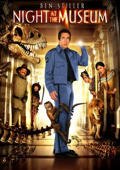 Night At The Museum (Widescreen) on DVD from Century Fox. Directed by Shawn Levy. Staring Ben Stiller, Dick Van Dyke, Mickey Rooney and Ricky Gervais. More Comedy, Fantasy and Family DVDs available @ DVD Empire. Kid Movies, Great Movies, Movies To Watch, Movie Tv, Funny Family Movies, Movies For Boys, Dvd Film, Film Serie, Movies Showing