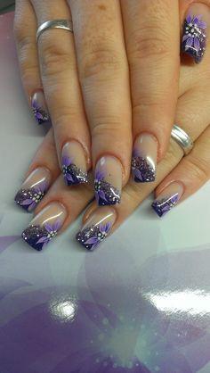Nail ideas 2018 winter cool nail colors art ideas winter 2018 2019 30 nails art of Winter Nails Colors 2019, Winter Nail Art, Nail Colors, Winter Colors, Pedicure Designs, Diy Nail Designs, Acrylic Nail Designs, Fingernail Designs, French Nail Designs