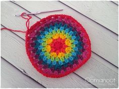 The second tutorial in my rainbow giveaway series is my version of the granny rainbow hat. I was originally inspired by this rainbow beany by revving it up (I do my best to give credit where it's d...