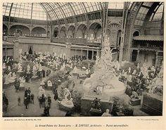 Photo:Exposition Universelle de 1900 - Les Palais des Beaux-Arts : Architecture et Sculpture, published by Armand Guerinet, Ed. Des Musées N...