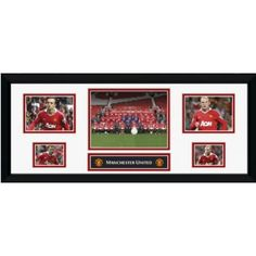 Man Utd Storyboard  Fully framed Manchester United storyboard.  Includes team photo, Rooney,Berbatov,Giggs,Scholes.    Height: 300mm.    Width: 760mm. Manchester United Gifts, Manchester United Legends, Manchester United Football, Team Photos, Man United, Gifts For Boys, Storyboard, The Unit, Club