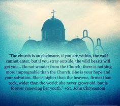 The 'invisible church' is a lie & an impossibility. Christian Warrior, Christian Love, Christian Quotes, Spiritual Gifts, Spiritual Quotes, Early Church Fathers, Religious Tolerance, John Chrysostom, True Faith