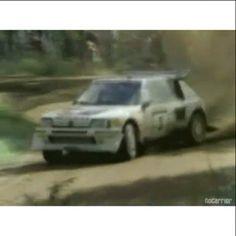 1985 Portugal & Finland Salonen, Röhrl & Salonen.  #wrc #wrcofficial #rally #rallye #audi #audiquattro #groupbrally #quattro #peugeot #groupbrally #205turbo #peugeot205t16 #motorsport #sport