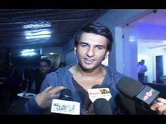 Ranveer Singh at the screening of Deepika Padukone's movie FINDING FANNY.