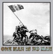 Phi Delta Theta: One man is no man!