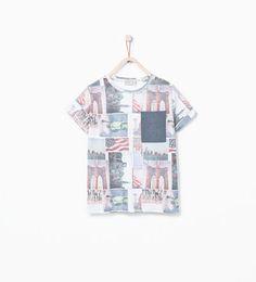 Shirt city-Alles bekijken-T-shirts en polo's-Jongens   4-14 jaar-KINDEREN   ZARA Nederland