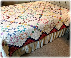 #449 Lucky Stars Quilt Pattern Digital Download