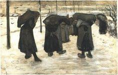 Women Miners - Vincent van Gogh