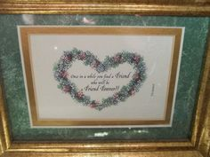 90s Heart Art Friends Forever Charming Table by SuzyQsVintageShop, $9.00