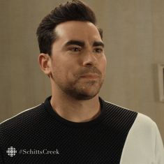 Trending GIF funny comedy yeah okay ok david cbc humour schitts creek canadian sure agree schittscreek david rose schitts dan levy uh huh reluctant convinced reluctantly happy to help coerced Ok Gif, David Rose, Schitts Creek, Funny Comedy, Uh Huh, Geek Culture, New Trends, Dan, Gifs