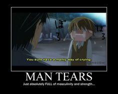 So manly, Shinobu... (Junjou Romantica)