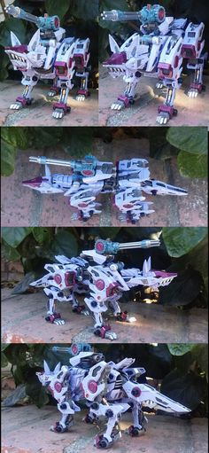 Custom Zoid: Shadow Fox Gigi by MidnightLiger0
