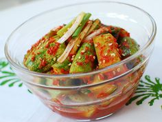 Oi Kimchi (Cucumber Kimchi) | Korean Food Gallery – Discover Korean Food Recipes and Inspiring Food Photos