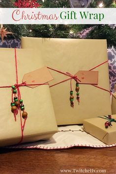 Christmas Gift Wrapping Ideas ~ Fun Holiday Gift Wrap