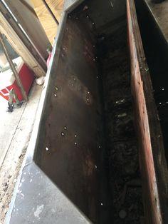 14 Lowe Jon Boat Transom Rebuild With Pvc Board Boat Project