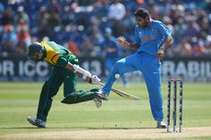 ICC Champions Trophy 2013 | SA vs India | Photo: Cricket South Africa/ Facebook