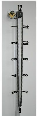 Awesome chain clock (with bicycle chain)