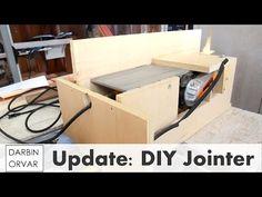 DIY Jointer - Shop Update November 2015 - YouTube