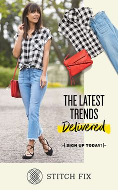 Ready for a Fix? Take a detailed Style Quiz and tell Stitch Fix about your style, fit and price preferences. Schedule your Fix and a personal stylist will curate five pieces for you to try on at home. Buy what you love and send back the rest in a free USPS return envelope. It couldn_ _t be easier!