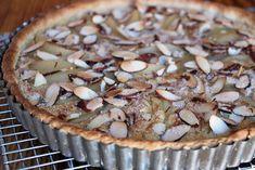 Crunchy, Nutty, Fruity, Sweet: Pear Almond Custard Tart for Thanksgiving   Photo: Wendy Goodfriend