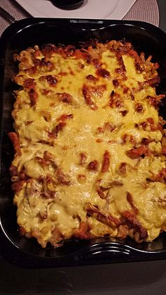 Gyros casserole with hollandaise sauce-Gyrosauflauf mit Sauce Hollandaise Gyros casserole with hollandaise sauce 5 - Pork Chop Recipes, Sausage Recipes, Healthy Chicken Recipes, Meat Recipes, Cooking Recipes, Rabbit Recipes, Meat Appetizers, Appetizer Recipes, Simple Appetizers