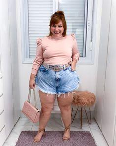 Shorts godê jeans: looks plus size e como usar - JUROMANO.COM