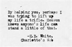 e.b. white quotes charlottes web - Bing Images