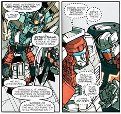Transformers: More Than Meets The Eye vol. 4. Oh swerve how we love you