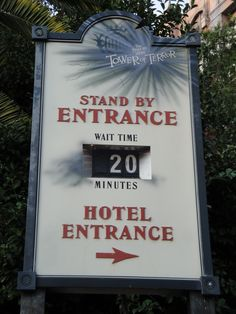 Only 20 minutes for Tower of Terror? Woo Hoo!