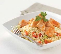 scottish slimmers garlic chicken and couscous