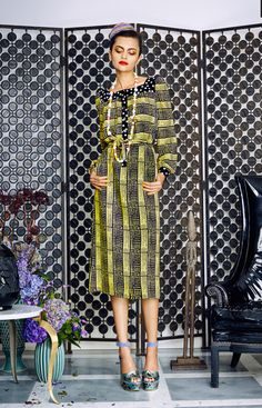 Duro Olowu ~African fashion, Ankara, kitenge, African women dresses, African prints, Braids, Nigerian wedding, Ghanaian fashion, African wedding ~DKK